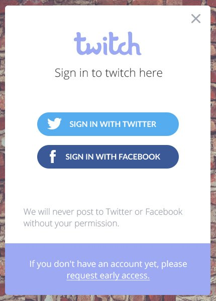 Login Widget Freebie