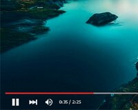 YouTube player UI PSD Download