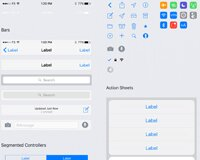 Facebook iOS 9 Sketch & PSD GUI