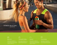 Free Fitness PSD template