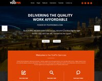 Yoopin Multipurpose Modern Website Template Free Psd