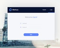 Merkury Free Dashboard Login Page