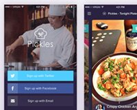 Restaurant App - Free PSD