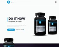 Free: Adele Product Landing Page