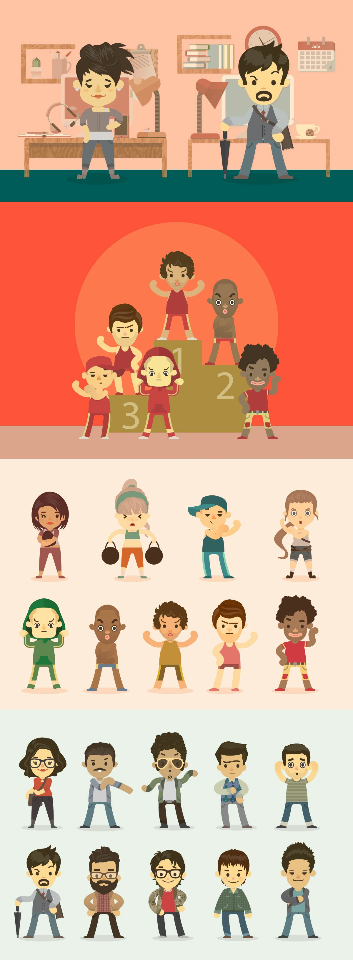 Cute Cartoon Avatar and Character Generator