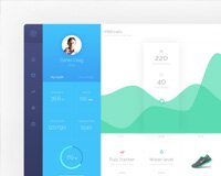 Hygea Dashboard PSD Template