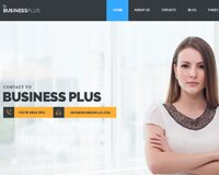 Business Plus PSD Template