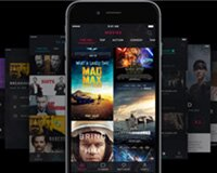 MOOOV Free Modern and Clean iOS movie App UI Kit