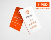 Business Card Mockup Download for Free