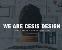 Free PSD Template - Cesis Design for Agency