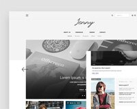 Free Tumblr Theme Psd