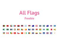 All Flags Freebie .ai file