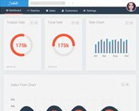 Sellestica Free Admin Template