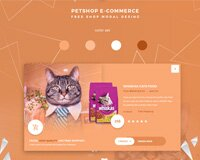 CatFood - Free .PSD Modal Design