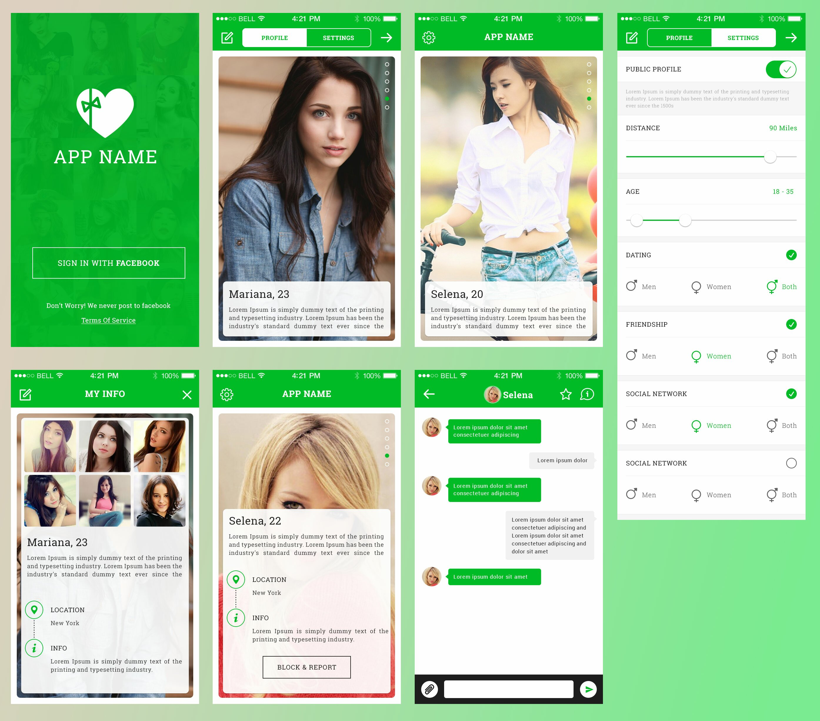 P dating app in Melbourne