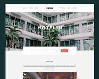 Hotelin - Free Psd Website