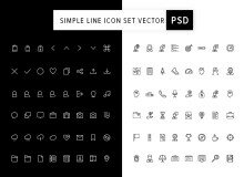 simple_line_icon_set_vector