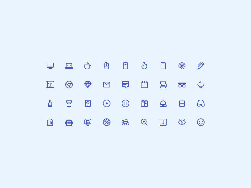 Tiny Insane Icons – Free download